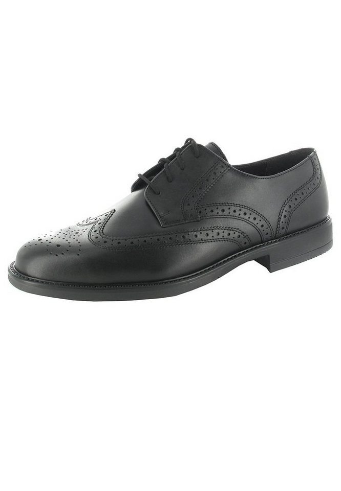Fretz Men Business-Schuhe in Schwarz