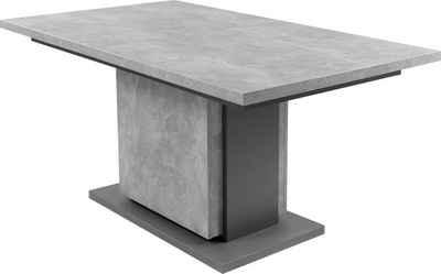 byLIVING Esstisch »Britta«, mit Auszugsfunktion, in 2 Breiten 140-190 cm oder 160-215 cm, Einlegeplatte im Tisch verstaubar