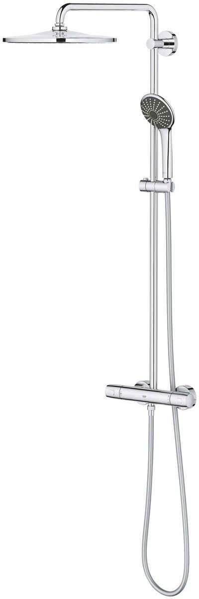 Grohe Duschsystem »Vitalio System 310 Duschsystem«, Höhe 111,6 cm, Set, mit Thermostatbatterie für die Wandmontage