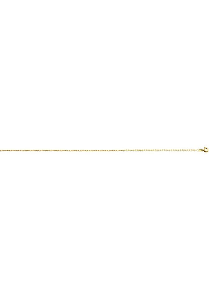 Anker-Kette mit Ringverschluss in goldfarben