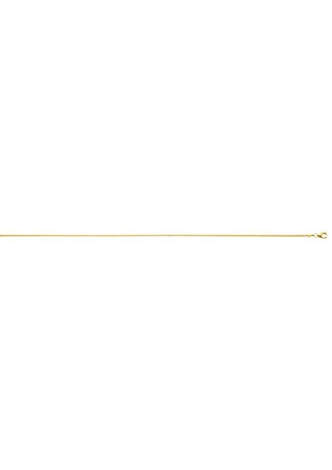 Kette mit Karabinerverschluss in goldfarben