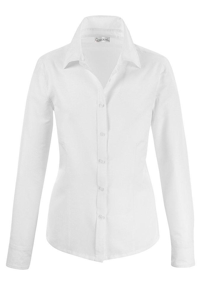 collection l bluse mit formgebende n hte kaufen otto. Black Bedroom Furniture Sets. Home Design Ideas