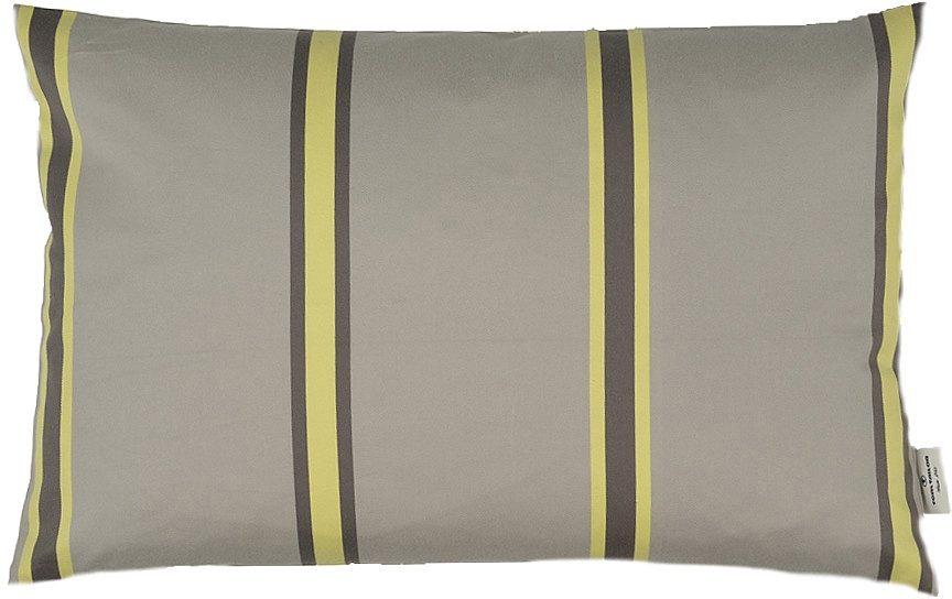Kissenhülle, Tom Tailor, »Stripes« (1er Pack), taupe-gelb