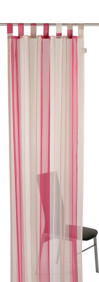 schlaufenschal tom tailor pink blockstripes mit. Black Bedroom Furniture Sets. Home Design Ideas