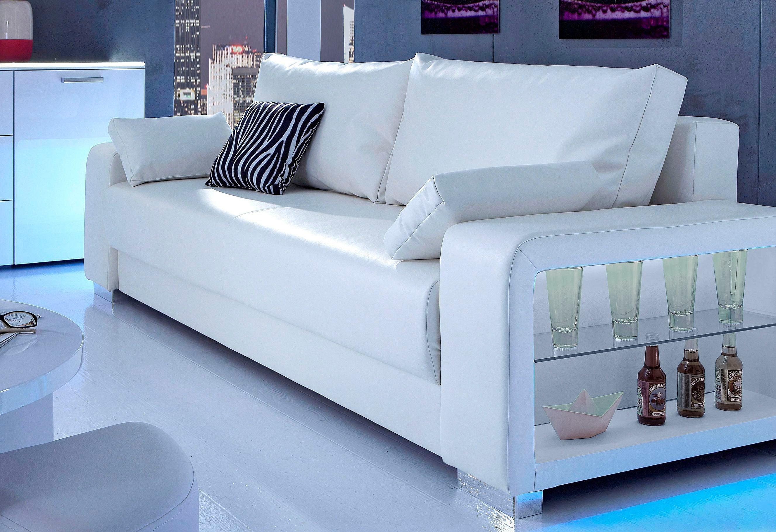 microfaser schlafsofas online kaufen m bel suchmaschine. Black Bedroom Furniture Sets. Home Design Ideas