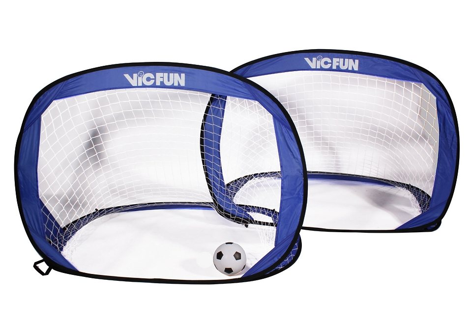 Pop up Tor, VICFUN, »Pop up Goal Set« in blau