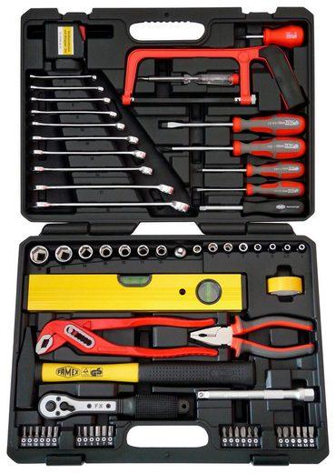 FAMEX Werkzeugkoffer »145-FX-55«, 67 tlg. Universal-Kofferset