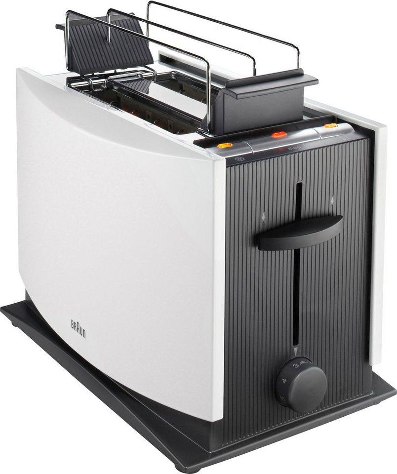 Braun Toaster »Multiquick 3 HT 450«, 950 Watt in weiß