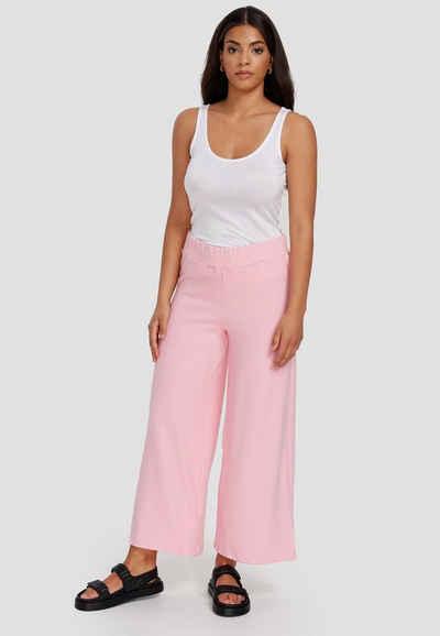 Cotton Candy Stoffhose »USAKA« mit seitlichen Schlitzen