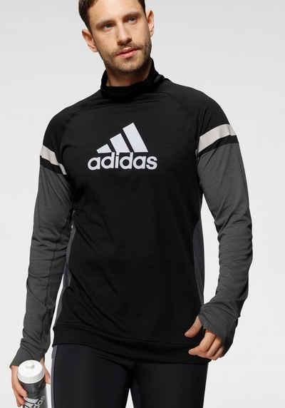 adidas Performance Laufshirt »ADIDAS TURTLE GRAPHIC BLOCK LONGSLEEVE TEE MEN«