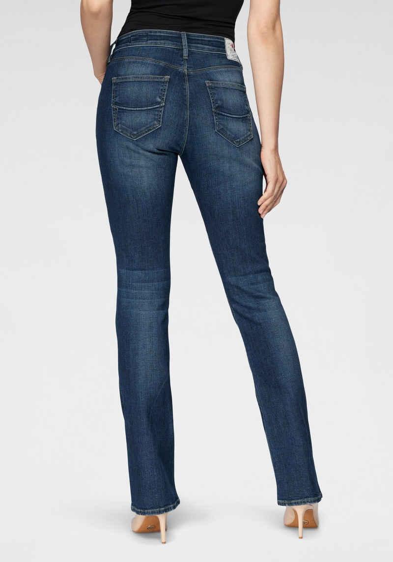 Herrlicher Bootcut-Jeans »SUPER G BOOT ORGANIC« umweltfreundlich dank Kitotex Technology