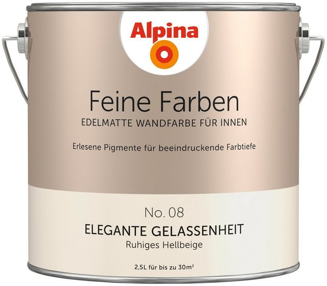 Alpina Feine Farben Elegante Gelassenheit, natur