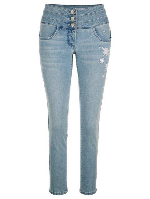 Hosen - Amy Vermont Slim fit Jeans mit Stickerei ›  - Onlineshop OTTO