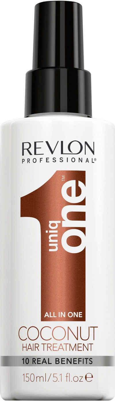 REVLON PROFESSIONAL Leave-in Pflege »Uniq One All in One Coconut Hair Treatment«, repariert volumengebend