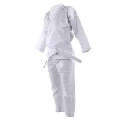BOUT3 Karateanzug »BOUT3 - Karateanzug, Karate GI Set, Jiu Jitsu - Kampfsport - Taekwondo - Judo, Große 130 bis 190, Material Stoff. 10oz, Weiß«