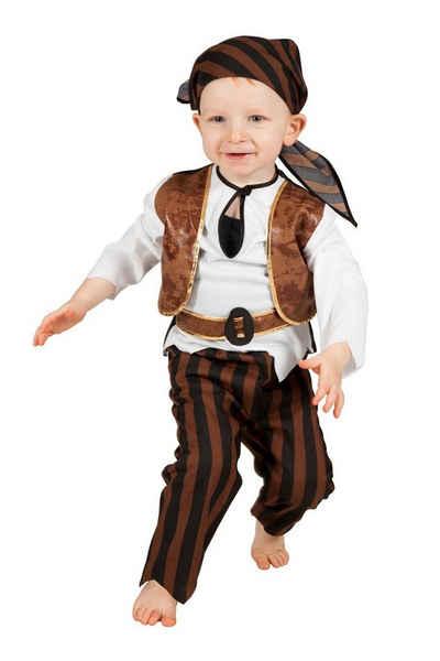 Wilbers Kostüm »Wilbers Kinderkostüm Baby Pirat Gr. 86 - 98 cm - Kleinkinder Piraten Seeräuber«