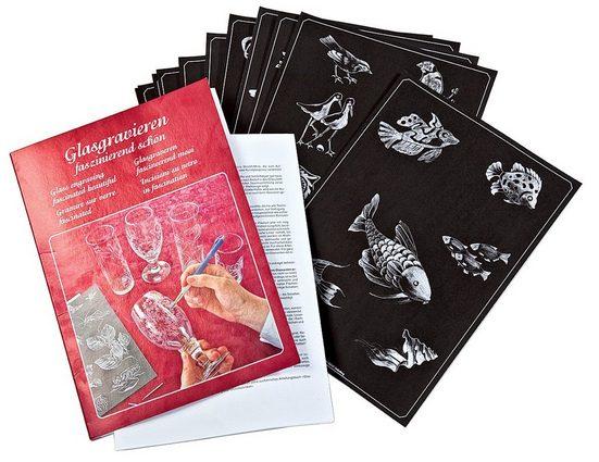 CREARTEC Malvorlage »Glasgravieren faszinierend schön«, DIN A4