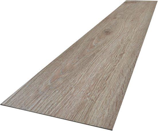 Vinylboden »Vinyl Planke, 48 Stück«, 6,68 qm², sebstklebend