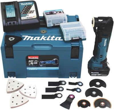 Makita Akku-Multifunktionswerkzeug »DTM51RT1J3«, 18 V, Set, 18 V, inkl. Zubehör