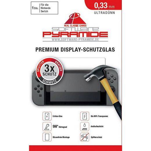 ak tronic Spielekonsolen-Zubehörset »Schutzglas für Nintendo Switch«