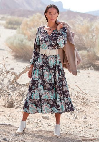 LASCANA Ilga suknelė su Alloverprint