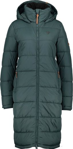 Alife & Kickin Steppjacke »JunaAK« langer oversized Wintermantel mit Two-Way-Zipper
