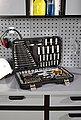 PROFIWERK Steckschlüsselsatz 215-tlg. Set, 1/4, 3/8 + 1/2 Zoll, Bild 6