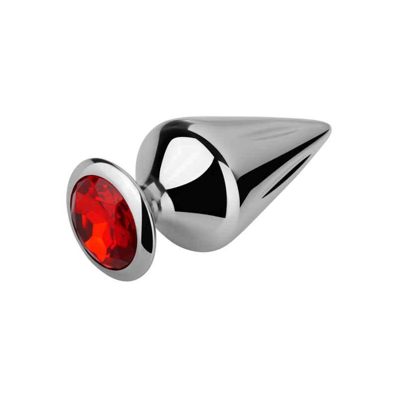 """EIS Analkugeln »Geriffelter Aluminium-Analplug """"Riffel"""" von EIS (7,5 cm) - hochwertig + funkelnd«"""
