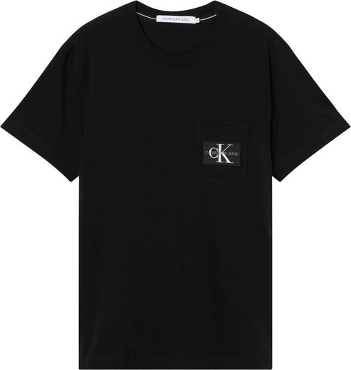 Calvin Klein Jeans T-Shirt »MONOGRAM BADGE POCKET TEE«