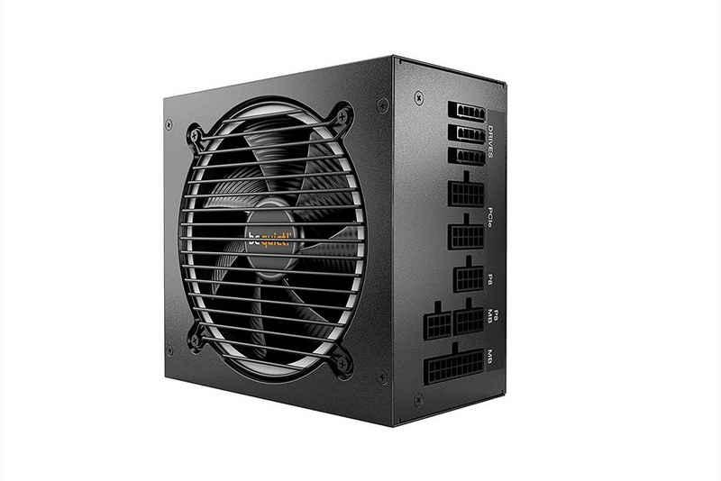 be quiet! »PURE POWER 11 FM BN319« PC-Netzteil (750W, Computer Netzteil, 80 PLUS Gold Effizienz, ATX, modulares Kabelmanagement, schwarz)
