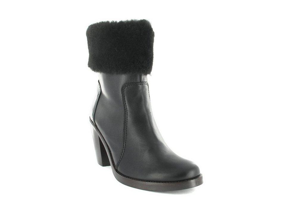 Werner-Schuhe Stiefeletten in Schwarz