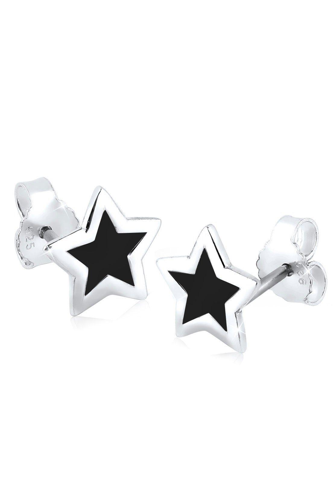 Elli Ohrringe »Sterne Trend Astro Filigran 925 Silber«