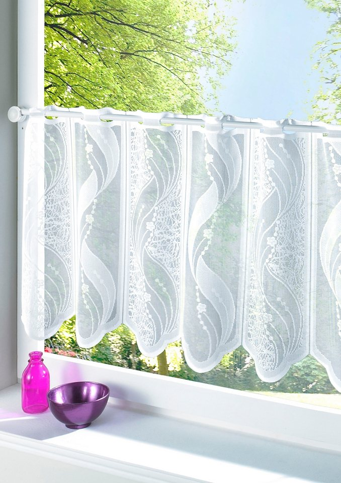 Fensterbehang in weiß