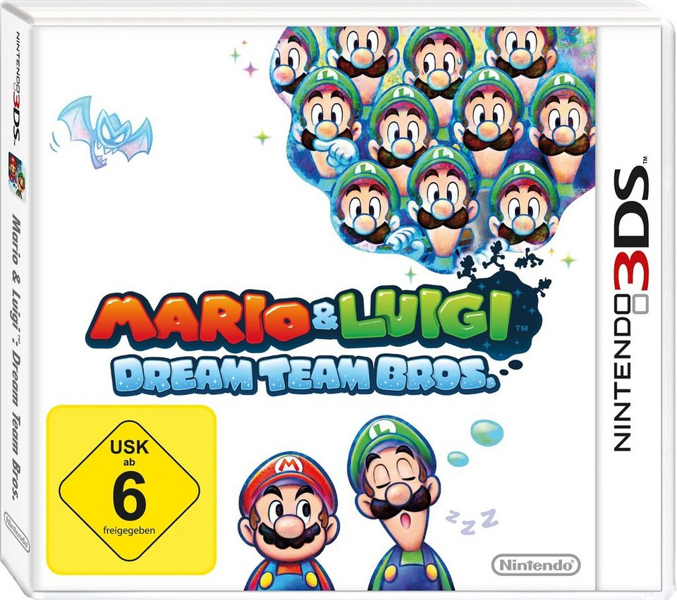 Mario & Luigi Dream Team Bros. Nintendo 3DS