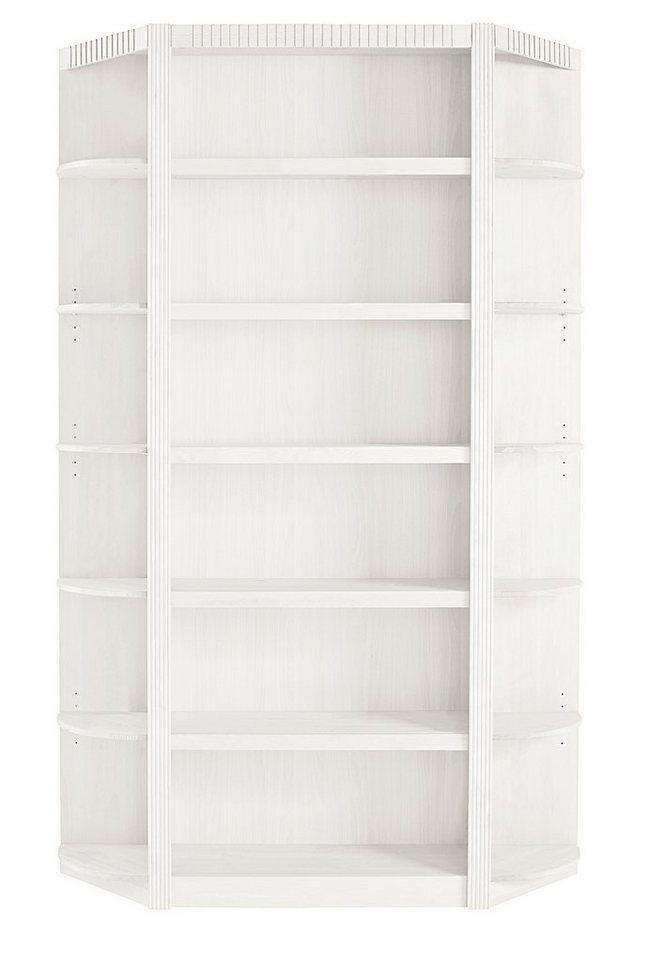 Home affaire, Bücherwand »Bergen«, Breite 135 cm in weiß