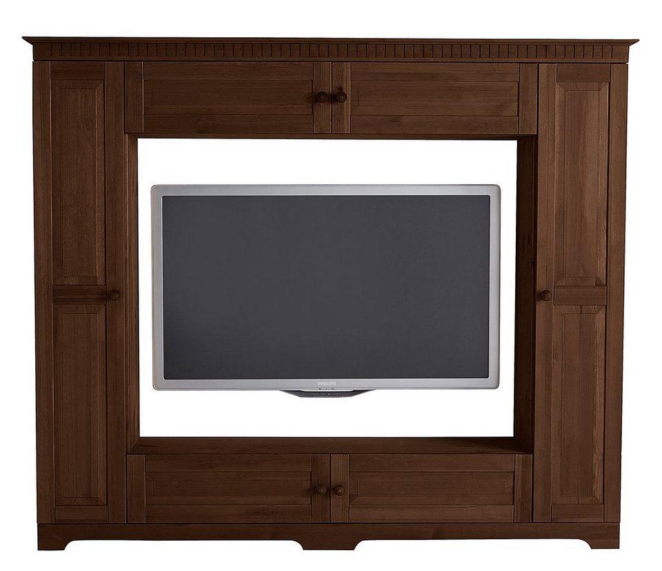tvwand home affaire breite 180 cm belastbarkeit bis 50. Black Bedroom Furniture Sets. Home Design Ideas