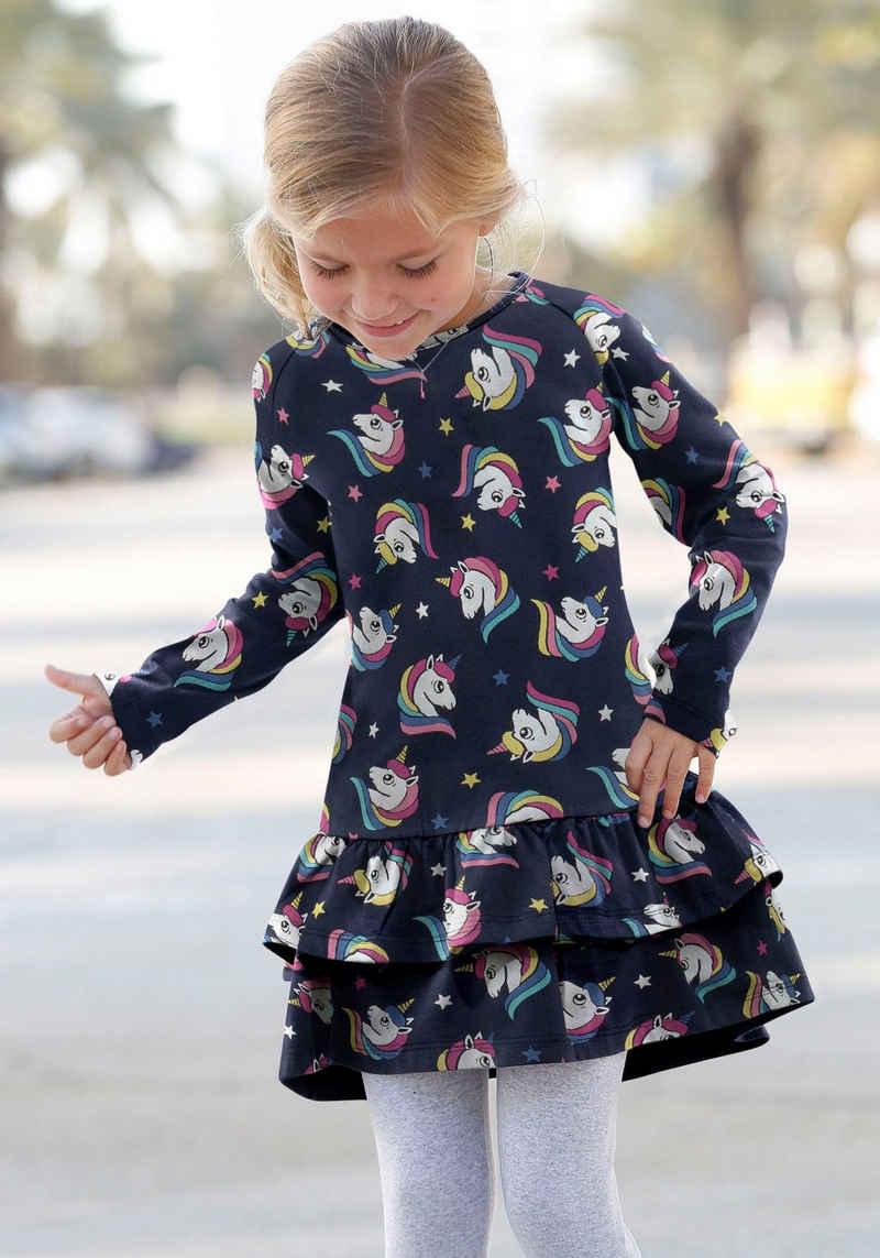 KIDSWORLD Jerseykleid mit Raglanärmeln