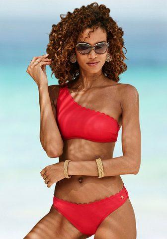 LASCANA Bustier-Bikini-Top »Scallop« in One-Sh...
