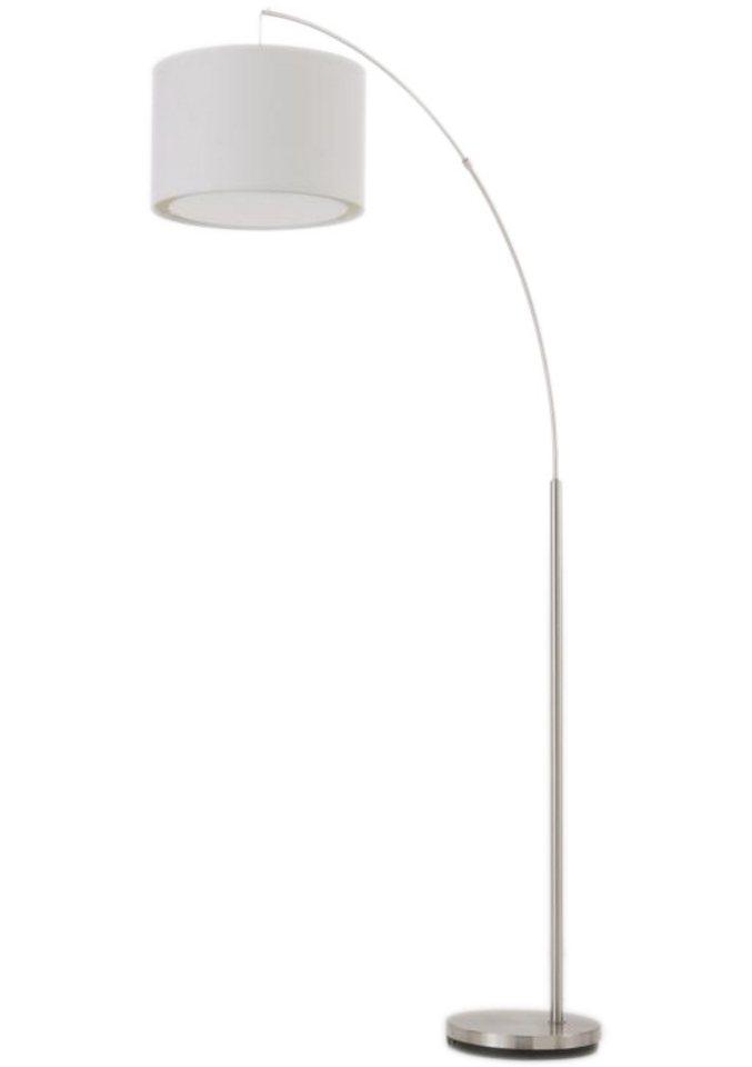 Stehlampe (1flg.) in silberfarben