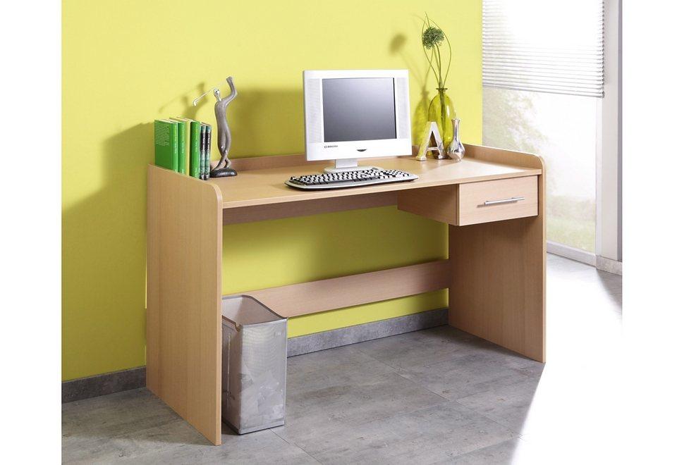 Schreibtisch »4510-2« höhenverstellbar in buchefb.
