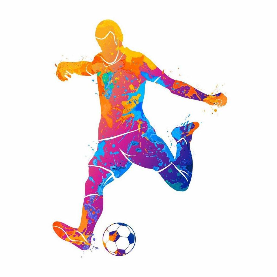 nikima Wandtattoo »8 Wandtattoo Fußball Spieler bunt« online kaufen   OTTO