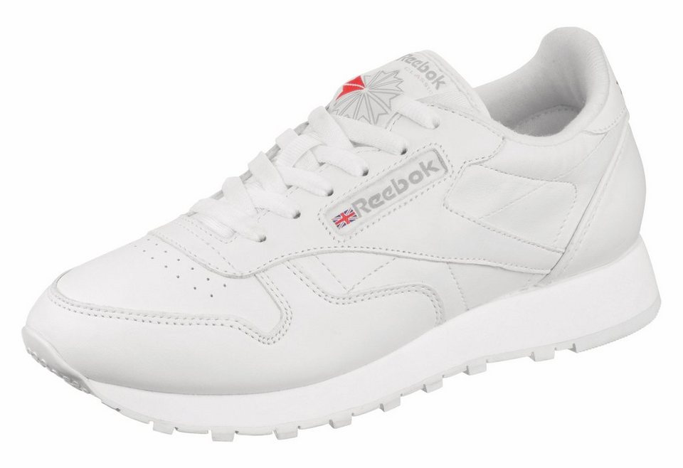 Reebok »Classic Leather W« Sneaker in weiß-weiß