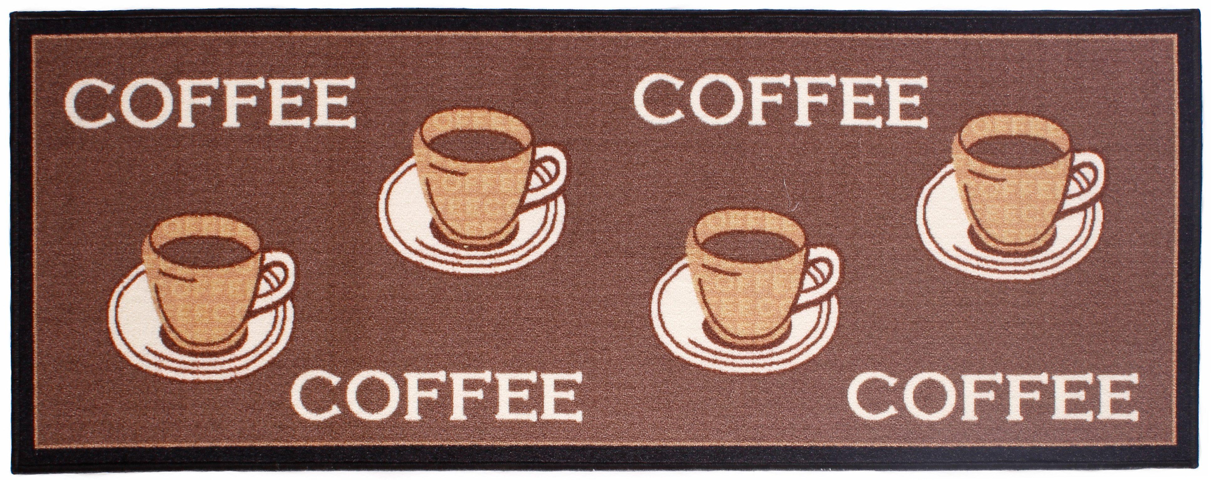 Küchenläufer »Coffee«, Andiamo, rechteckig, Höhe 5 mm