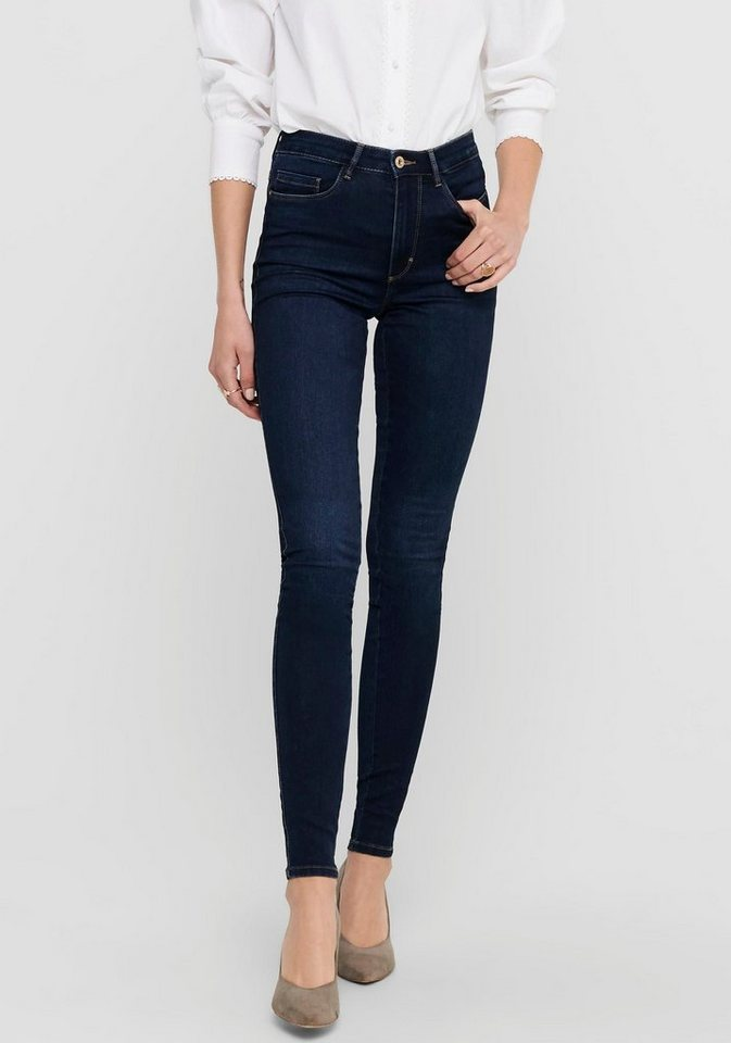 only -  Skinny-fit-Jeans »ONLROYAL« in High Waist-Form