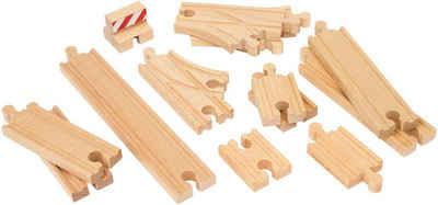 BRIO® Gleise-Set »Ergänzungsset Holzschienensystem, BRIO® WORLD Schienen Starter Pack B«, FSC®-Holz aus gewissenhaft bewirtschafteten Wäldern