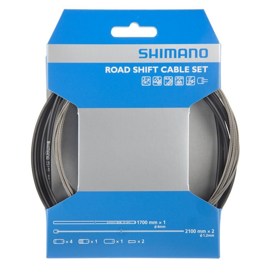 Shimano Schaltung »OT-SP41 Schaltzugset Road/Edelstahl«
