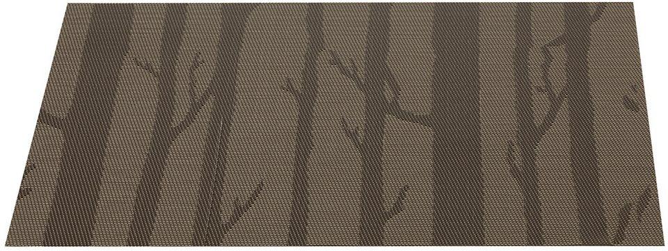 Platzset, Leonardo (4er Set) in braun