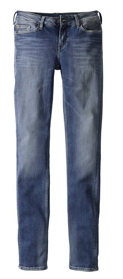 MUSTANG Stretchjeans »Jasmin« in brushed bleached