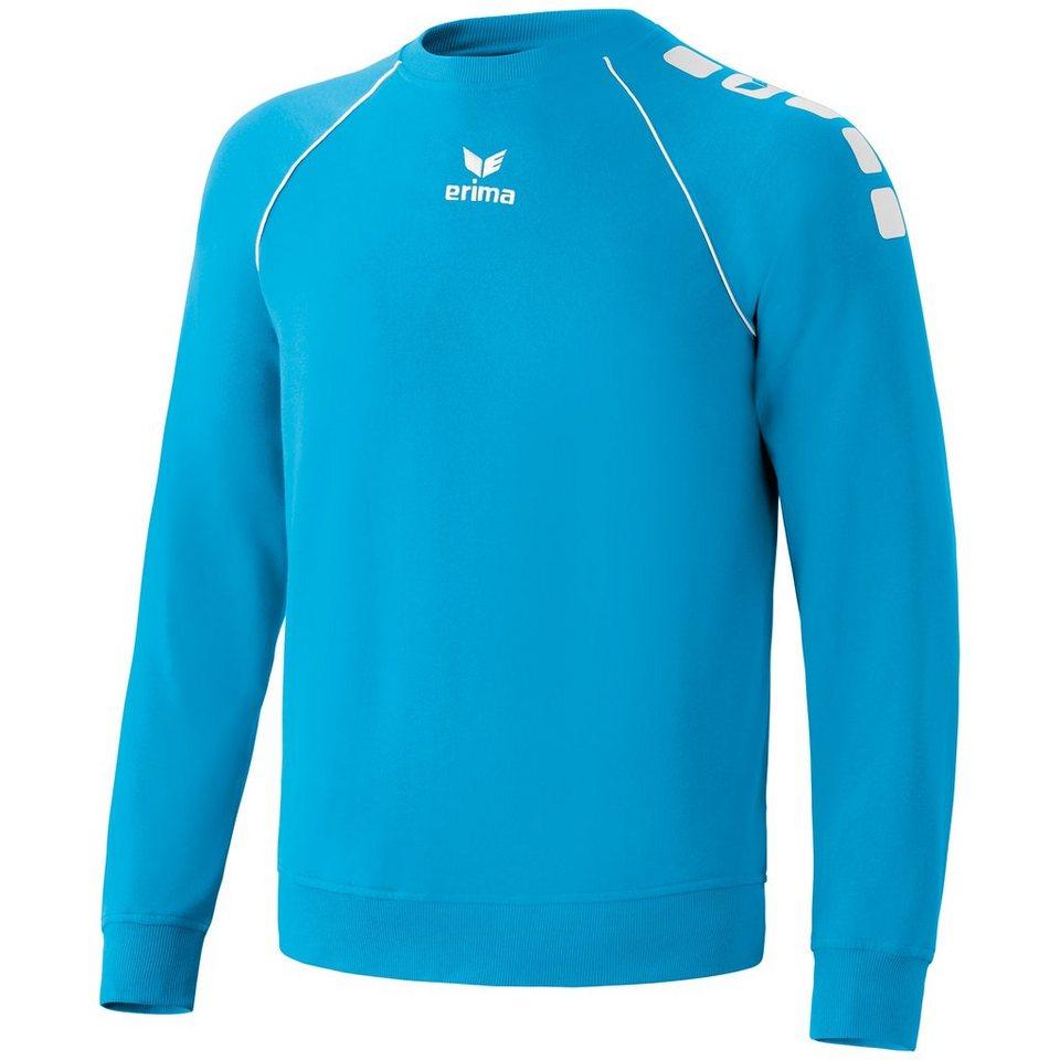 ERIMA 5-CUBES Basic Sweatshirt Herren in curacao/weiß