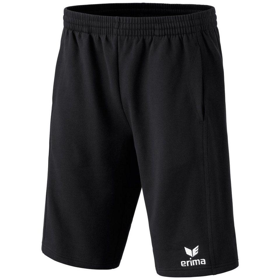 ERIMA 5-CUBES Basic Sweatpant kurz Herren in schwarz